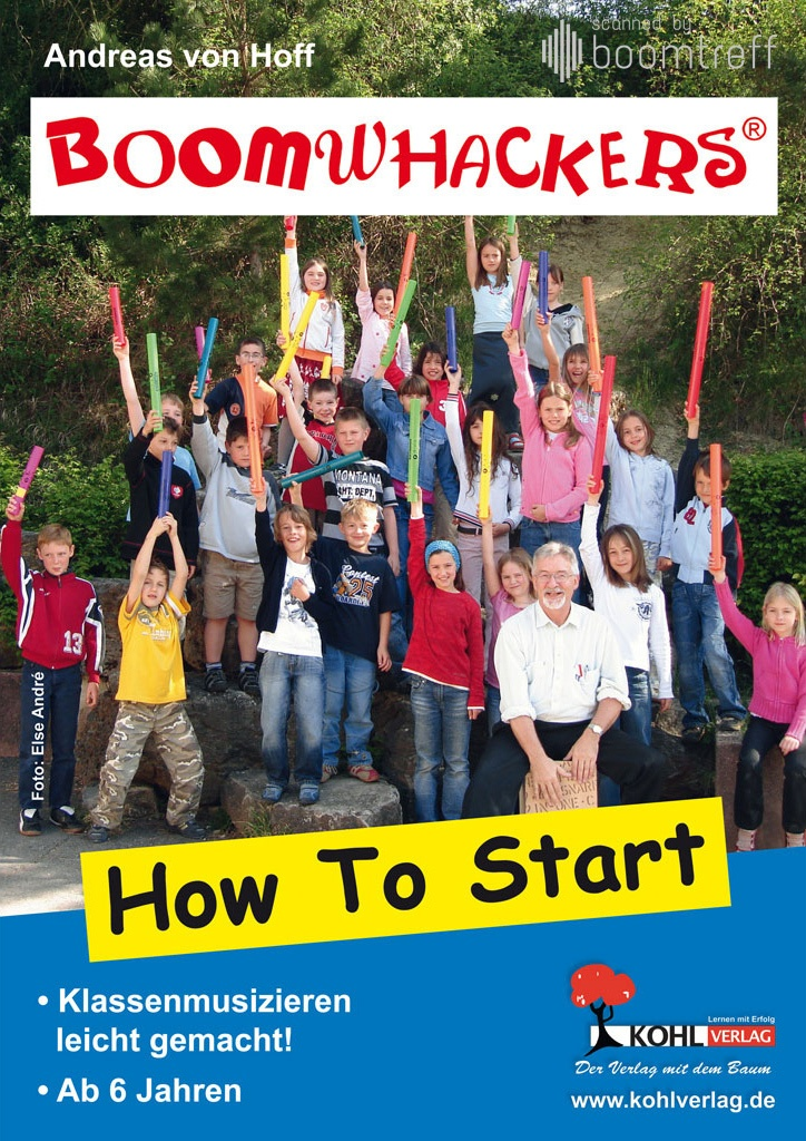 Boomwhackers How to Start - Cover