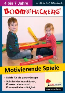 Boomwhackers - Motivierende Spiele (Cover)