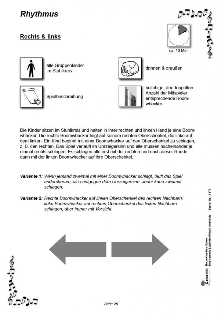 Vorschule Spiele - Rechts & Links