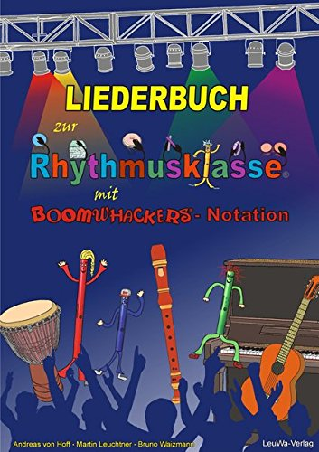Liederbuch zur Rhythmusklasse - Cover