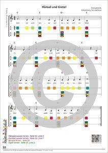 Liederbuch zur Rhythmusklasse - Beispielseite 10