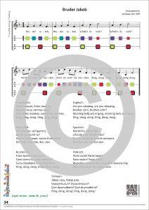 Liederbuch zur Rhythmusklasse - Beispielseite 34