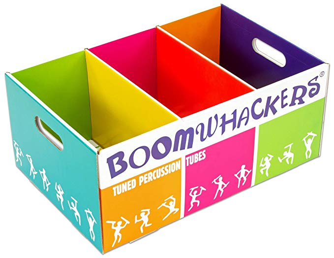 Boomwhackers Aufbewahrung
