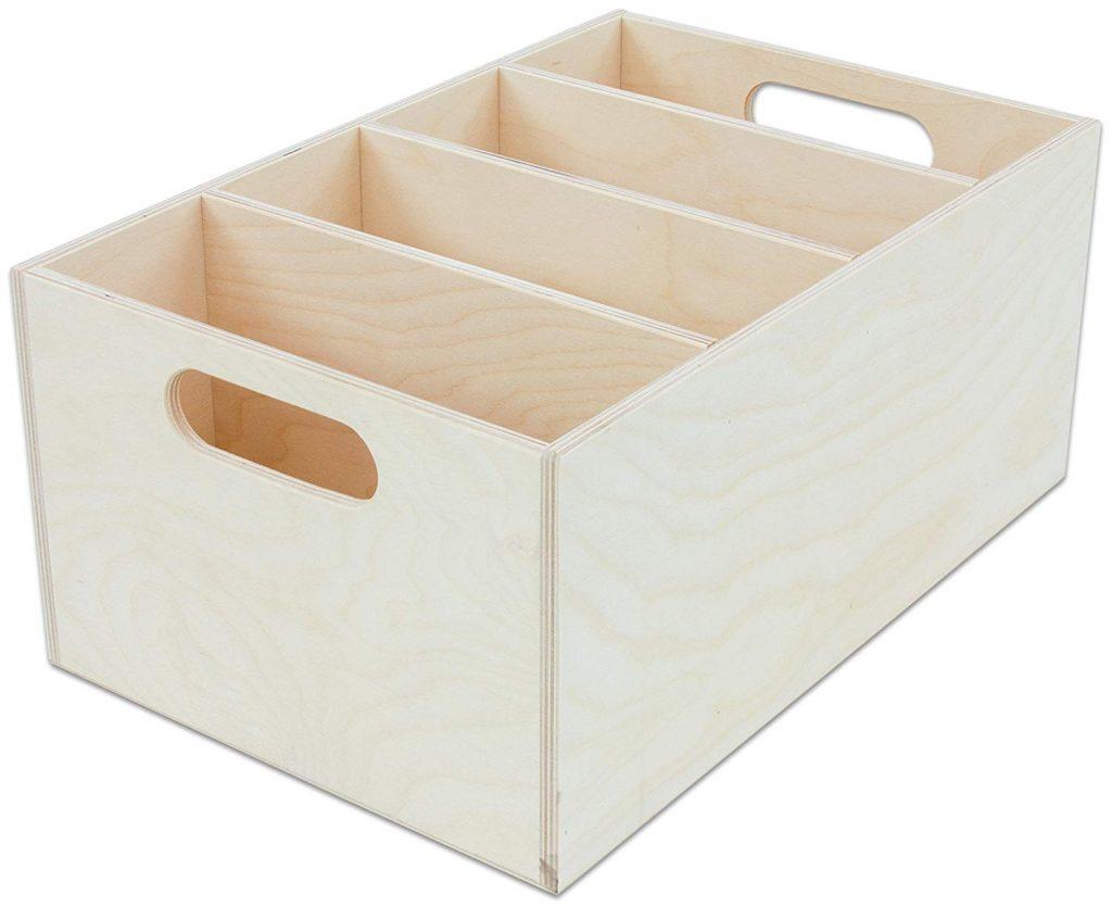 Boomwhackers Holzboxen zur Aufbewahrung