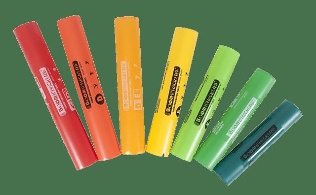 Boomwhackers Chromatische Erweiterung - 5 zusätzliche Röhren 1