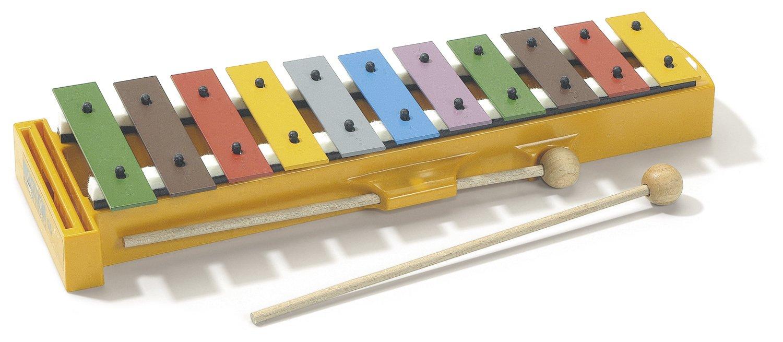 Glockenspiel mit Boomwhackersfarben (Optimal für die Grundschule) 2