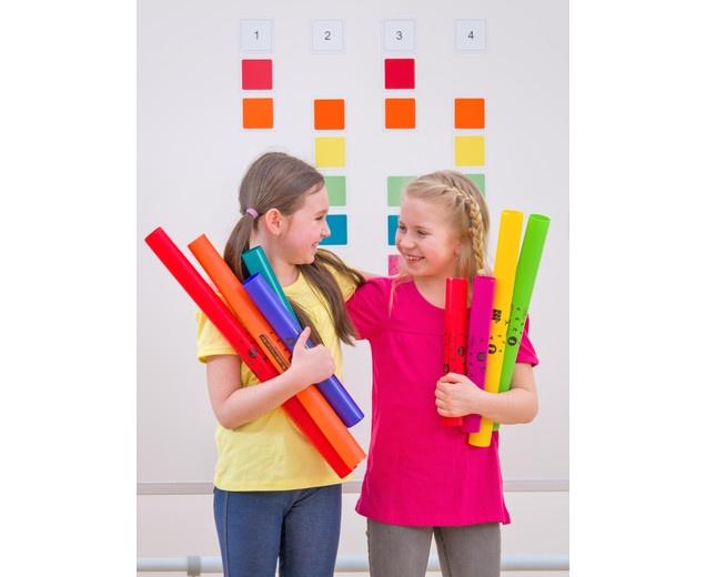Boomwhackers Farbkarten - Für den ersten Musikunterricht ohne Noten 1