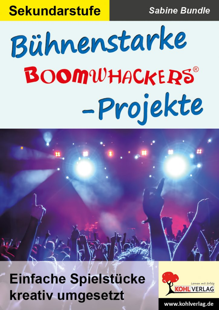 Bühnenstarke Boomwhacker-Projekte - Cover