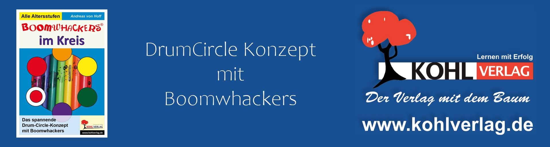 Boomwhackers im Kreis – DrumCircle Konzept mit Boomwhackers