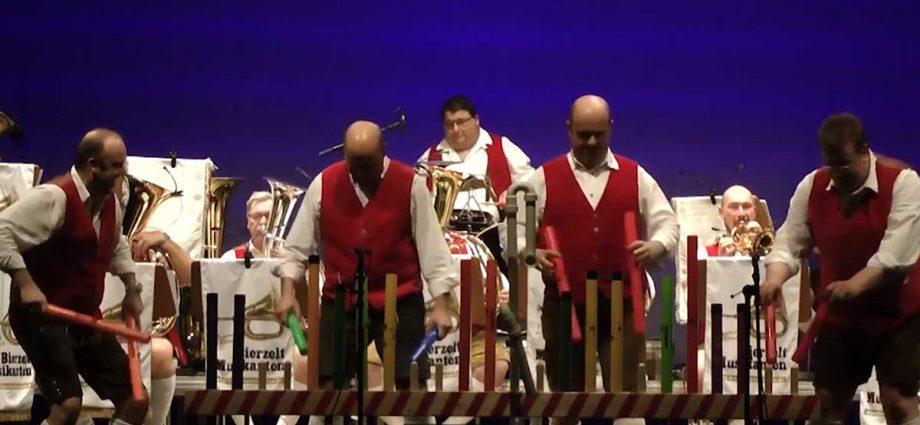 Boomwhacker meets böhmisch - Die Bierzeltmusikanten 1