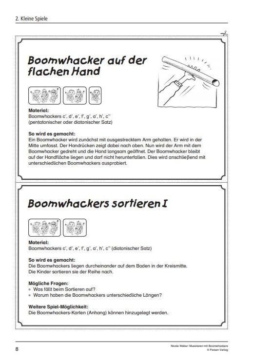 Musizieren mit Boomwhackers 5