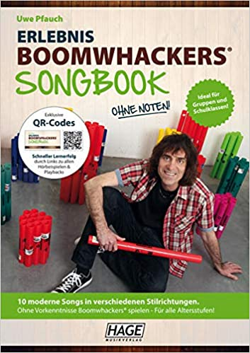 Erlebnis Boomwhackers - Songbook ohne Noten 1