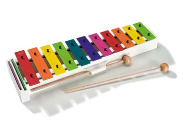 Sonor Glockenspiel BWG in Boomwhackers Farben